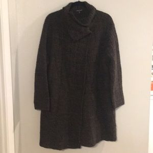 Eileen Fisher Sweater Coat size L - like new!
